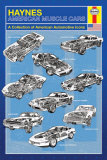 Haynes- American Muscle Cars Posters