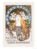 Alphonse Mucha - Sarah Bernhardt - Reprodüksiyon