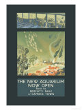 The New Aquarium Now Open Prints by George Sheringham