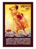 Valencia: Grande Fiestas de Mayo, 1917 Posters by Enrique Pertegaz