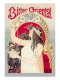 Bitter Oriental Poster by Privat Livemont