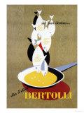 Bertolli Olive Oil Posters by Erberto Carboni
