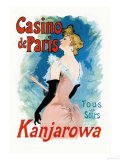 Kanjarowa: Casino de Paris Prints by Jules Chéret