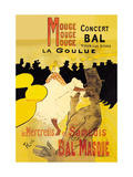 Moulin Rouge Concerts Posters by Henri de Toulouse-Lautrec