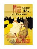 Moulin Rouge Concerts Posters by Henri de Toulouse-Lautrec
