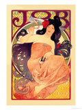 Job Psters por Alphonse Mucha