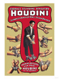 Houdini: The World's Handcuff King and Prison Breaker Premium Giclee Print