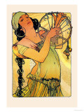 Salom Psters por Alphonse Mucha