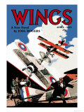 Wings Prints by Rudolph Belarski