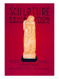 Sculpture Exhibition: Wpa Federal Art Project Prints by Vera Bock