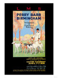 Perry Barr, Birmingham, Greyhound Racing Poster