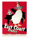 East Coast Frolics Prints