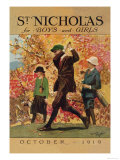 St. Nicholas for Boys and Girls Prints by Garrett Price