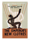 The Emporer's New Clothes: Federal Theater for Youth Posters