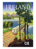 Ireland by Cie Posters