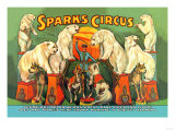 Sparks Circus Posters