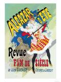 Alcazar d'Ete: Revue Fin de Siecle Posters by Jules Chéret