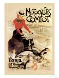 Motorcycles Comiot Prints by Th&#233;ophile Alexandre Steinlen