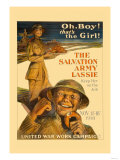 The Salvation Army Lassie Poster