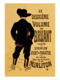Le Deuxieme Volume de Bruant Pster por Henri de Toulouse-Lautrec