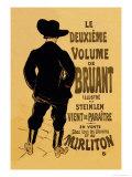 Le Deuxieme Volume de Bruant Lámina por Henri de Toulouse-Lautrec