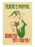 Theater Espanyol Premium Giclee Print by A. Sunyol