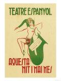 Theater Espanyol Art by A. Sunyol