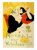 Reine de Joie Poster by Henri de Toulouse-Lautrec