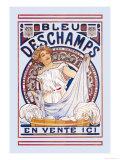 Bleu Deschamps En Vente Ici Prints by Alphonse Mucha