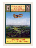 Dayton, Ohio Welcomes the Wright Brothers Print