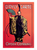 D'Oyly Carten oopperaseurue Posters
