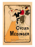 Cycles Medinger Posters by Georges-alfred Bottini