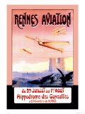 Rennes Aviation Premium Giclee Print by F. Boursier
