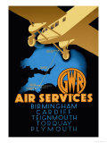 Gwr Air Services Prints by  Ralph