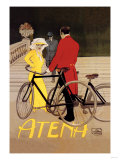 Atena Bicycles Poster