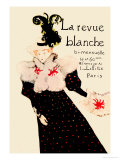 La Revue Blanche Lminas por Henri de Toulouse-Lautrec