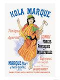 Kola Marque Tonique et Apertif Prints by Jules Chéret