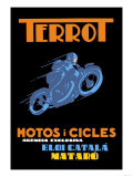 Terrot Motorcycles and Bicycles Art