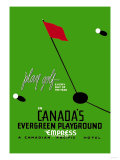 Play Golf in Canada's Evergreen Playground Art