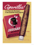 Indiana Cigarillos Prints