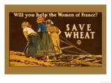 Save Wheat Posters by Edward Penfield