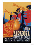 Zaragoza Posters by Evillermo 