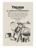 Triumph of Effortless Performance Affiches