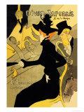 Divan Japonais Poster von Henri de Toulouse-Lautrec