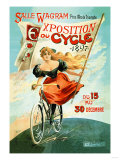Bicycle Exhibition, c.1897 Prints