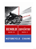 Reynold Mark 10 Motorcycle Chains Poster