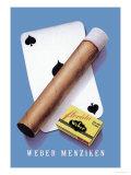 Weber Menziken Cigars Premium Giclee Print by Niklaus Stoecklin