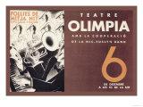 Theatre Olimpia Poster by E. Mora