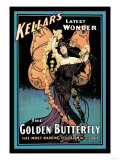 The Golden Butterfly: Kellar's Latest Wonder Posters
