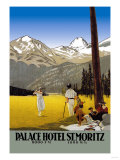 Palace Hotel St. Moritz Posters